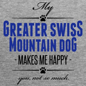 My Greater Swiss Mountain Dog makes me happy - Jersey-Beanie