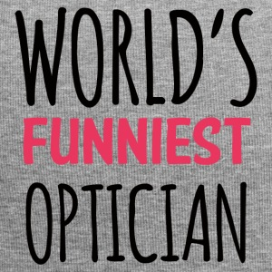 Optician: World's Funniest Optician - Jersey Beanie