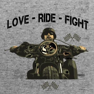 RIDE MOTORBIKE - LOVE - FIGHT - Jersey Beanie