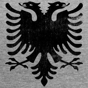Albanian flag vintage - Jersey Beanie