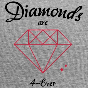 Diamonds are 4-Ever - Jersey-Beanie