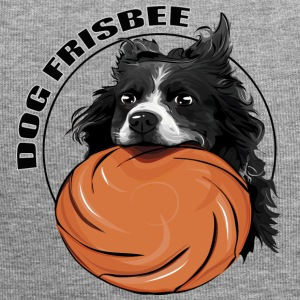 FRISBEE Border Collie DOG - Bonnet en jersey