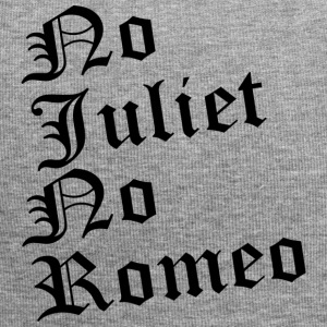 No Juliet No Romeo Felpa - Beanie in jersey