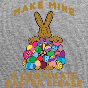 Easter Make Mine A Chocolate Easter Please - Jersey Beanie