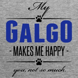 My Galgo makes me happy - Jersey-Beanie