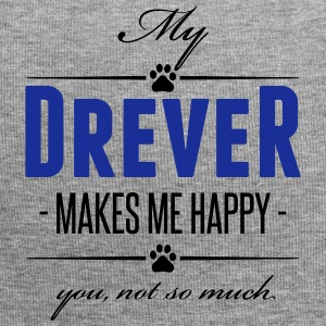 My Drever makes me happy - Jersey-Beanie