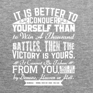Conquer Yourself - Jersey-Beanie