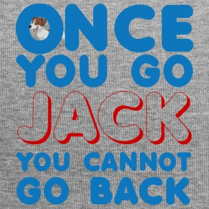 Hund / Jack Russell: Once You Go Jack, You Cannot - Jersey-Beanie