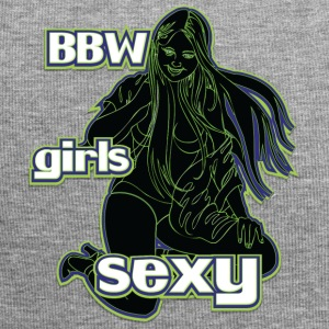 bbw girls sexy black green - Jersey Beanie
