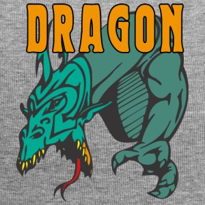 dragon attacking color - Jersey Beanie