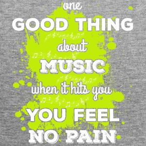 Music! When it hits you you feel no pain (light) - Jersey Beanie