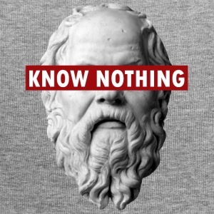 KNOW NOTHING SOCRATES - Beanie in jersey