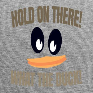 What The Duck Dark Text - Jersey Beanie