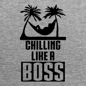 Chilling like a BOSS - Jersey Beanie