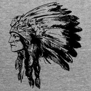 Indian face American Illustration - Jersey Beanie