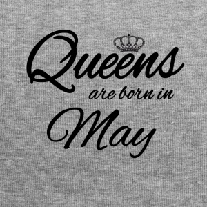 Queens Born May Princess Birthday Birthday May - Jersey Beanie