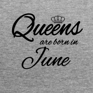 Queens Born June Princess June Birthday Bday - Jersey Beanie