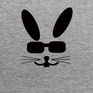 Eastern Bunny with sunglasses Rabbit Sunglasses - Jersey Beanie