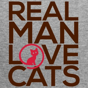 Real man love cats - Jersey Beanie