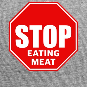 stop eating meat - Jersey-Beanie