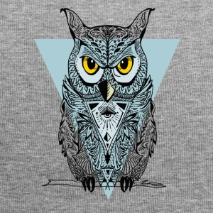 Owl triangle illuminati swag bird eyes night lol - Jersey Beanie