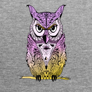 Owl mandala yoga illuminati eyes night see lol - Jersey Beanie