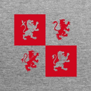 Red lions ritter coat of arms England uniforms heraldry l - Jersey Beanie