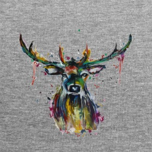 Colorful stag - Jersey Beanie