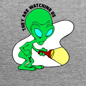They Are Watching Us Alien Search Party - Jersey Beanie