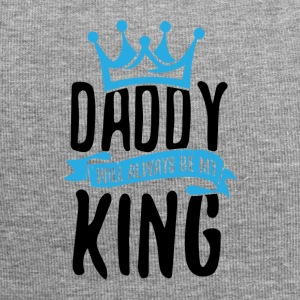 Daddy Will Always Be My King - Jersey-Beanie