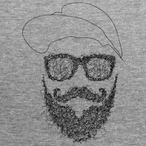 Hipster Scribbling - Jersey Beanie