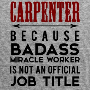 Carpenter: Carpenter Fordi Badass Miracle - Jersey-Beanie