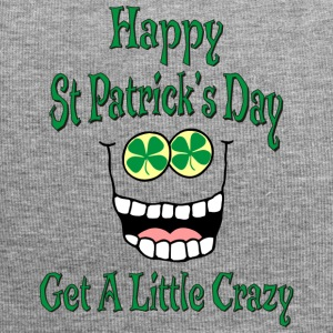 Funny Happy St Patrick's Day - Jersey Beanie