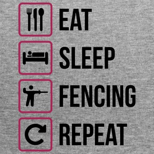 Eat Sleep Fencing Repeat - Jersey-Beanie