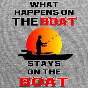 What Happens on the Boat - Jersey Beanie