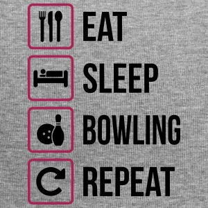 Eat Sleep Bowling Gentag - Jersey-Beanie