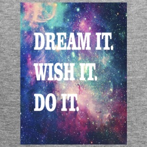 Dream it, wish it, do it - Jersey Beanie