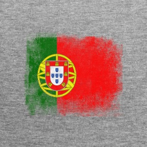 Portugal Flag Proud Portoguese Vintage Distressed - Jersey Beanie