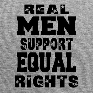 Real Men Support Equal Rights - Jersey Beanie