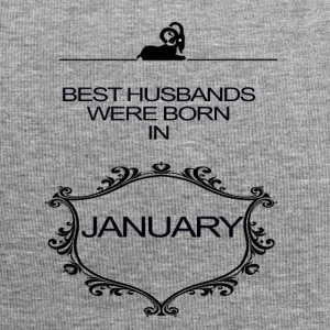 BEST HUSBAND WERE BORN IN JANUARY - Jersey Beanie