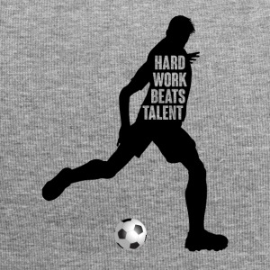 Football: Hard Work Beats Talent - Bonnet en jersey