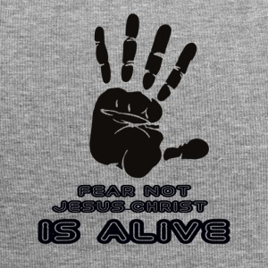 FEAR NOT JESUS IS ALIVE - Jersey Beanie