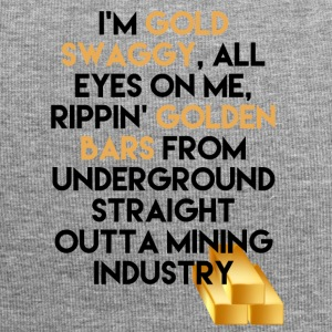 Mining Ik ben Gold swaggy, All Eyes On Me, Rippin' - Jersey-Beanie