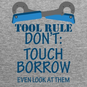 Mechaniker: Tool Rule Don´t: Touch Borrow Even - Jersey-Beanie