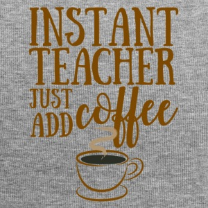 Lehrer / Schule: Instant Teacher - Just Add Coffee - Jersey-Beanie