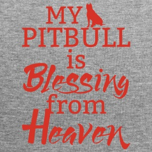 Hund / Pitpull: My Pitbull Is Blessing From Heaven - Jersey-Beanie