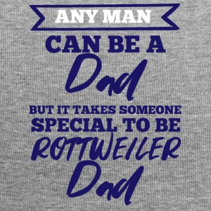 Dog / Rottweiler: Any Man Can Be A Dad, But It - Jersey Beanie
