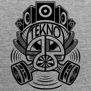 Tekno 23 gas mask - Jersey-Beanie