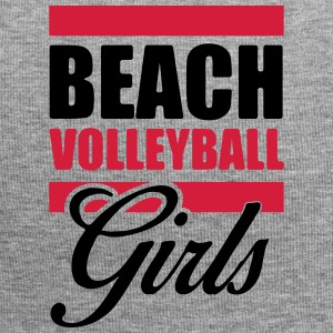 Beach Volleyball Girls Shirt - Volleyball T-Shirt - Jersey Beanie