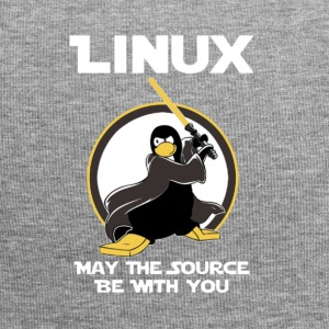 may_the_linux_source - Gorro holgado de tela de jersey